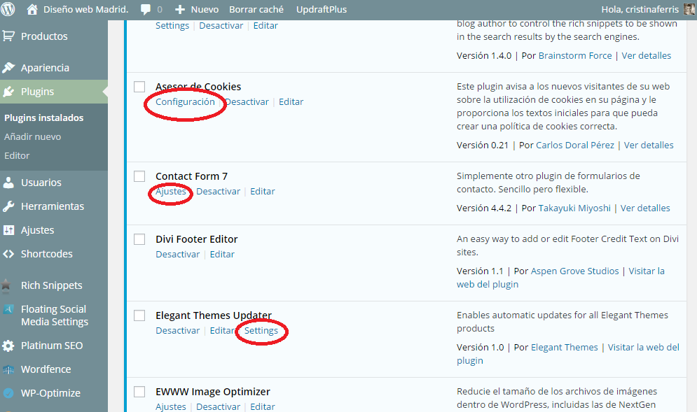 COMO INSTALAR UN PLUGIN DE WORDPRESS